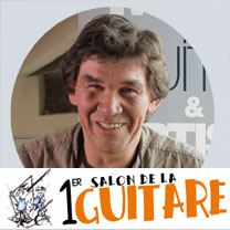 video guitare : Philippe Berne - Au salon de la guitare de la Bellevilloise 2015 avec laguitare.com