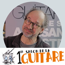 video guitare : Franck Cheval - Au salon de la guitare de la Bellevilloise 2015 avec laguitare.com