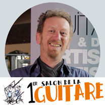 video guitare : Fred Kopo - Au salon de la guitare de la Bellevilloise 2015 avec laguitare.com