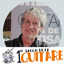 video guitare : Philippe Moneret - Au salon de la guitare de la Bellevilloise 2015 avec laguitare.com