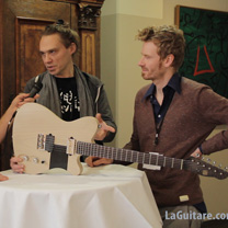 video guitare : Tao Guitars - The Holy Grail Guitar Show 2015 avec laguitare.com