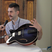video guitare : TTL Tobias Lund Lindberg - The Holy Grail Guitar Show 2015 avec laguitare.com