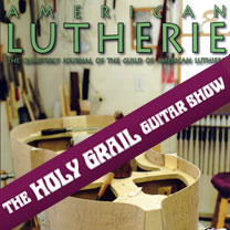 video guitare : The Holy Grail Guitar Show - American Lutherie numéro 121 avec laguitare.com