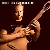 Albums CD DVD Disques guitariste : Richard Bonnet - Morning Bear avec laguitare.com