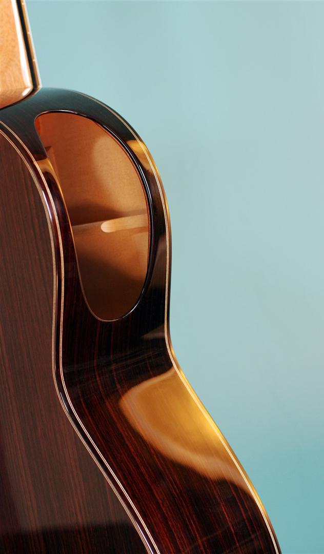 acheter une guitare Acoustique nylon Maestro Burlot dans la boutique de laguitare.com
