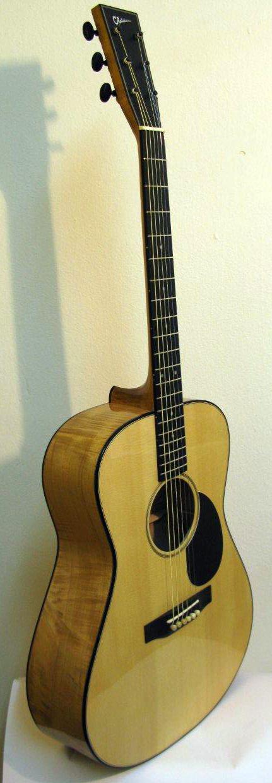 vente guitare Acoustique acier Modèle A Erable Chatelier