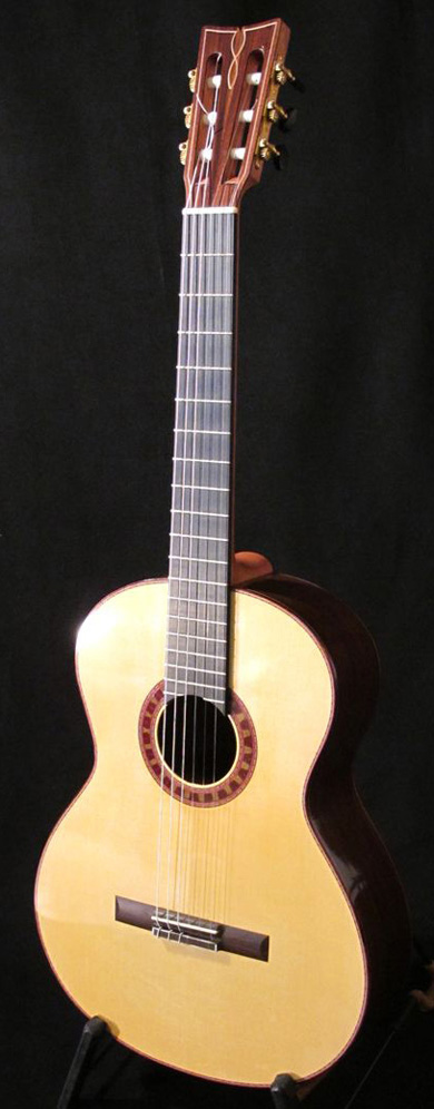 guitare classique table epicea ou cedre
