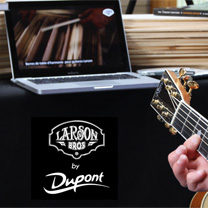 video guitare : Larson Bros - Stetson Style 1 VS 1900 by Maurice Dupont avec laguitare.com