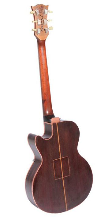 vente guitare Arch-top Copper Gaucher