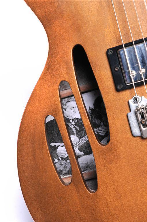 acheter une guitare Arch-top Copper Gaucher dans la boutique de laguitare.com
