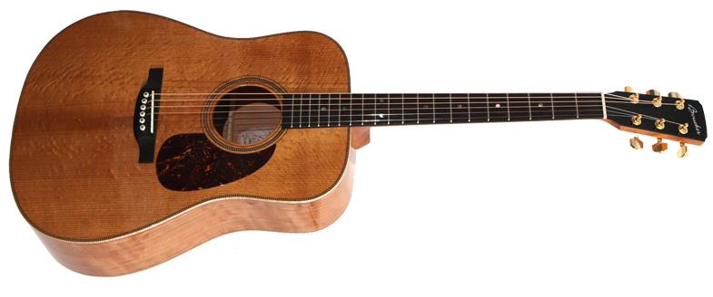 guitare acoustique boucher