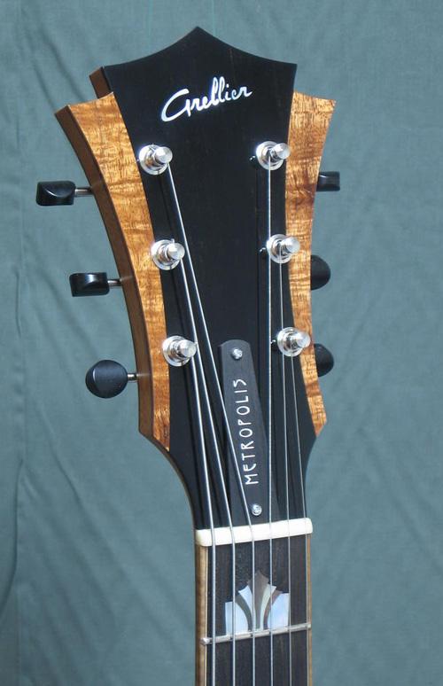 acheter une guitare Arch-top Metropolis Grellier dans la boutique de laguitare.com