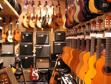 la guitare com pr sentations guitarshop un tat de sant de nos magasins de musique. Black Bedroom Furniture Sets. Home Design Ideas