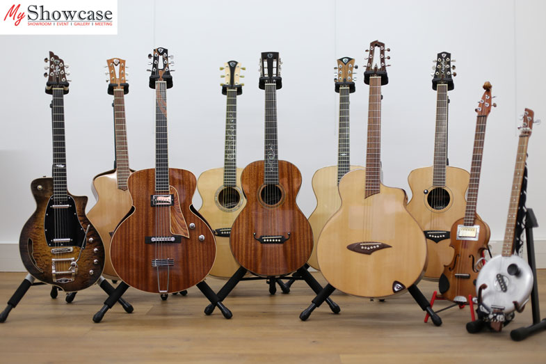 Showroom de luthiers à Paris Gumb-myshowcase-stand