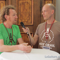 video guitare : Fred Kopo - The Holy Grail Guitar Show 2015 avec laguitare.com