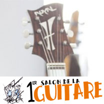 video guitare : Jacobacci - Au salon de la guitare de la Bellevilloise 2015 avec laguitare.com