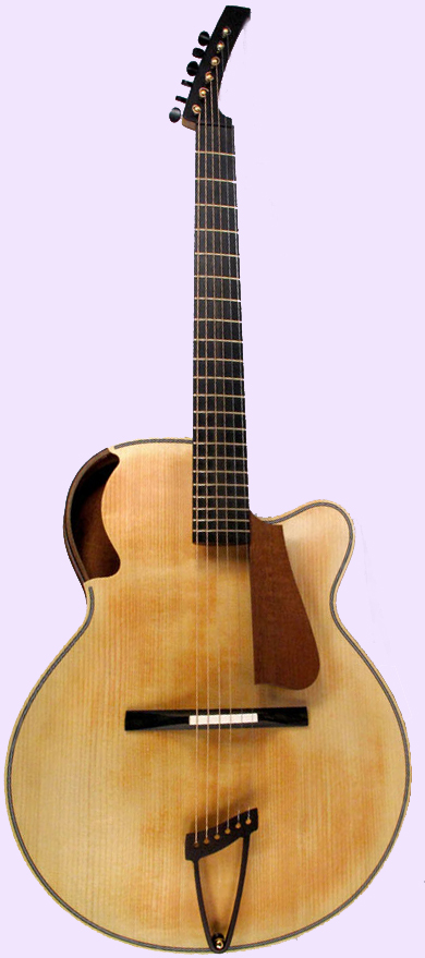 boutique guitare laguitare.com : vente guitare Acoustic Archtop Brownie