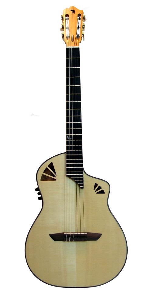 boutique guitare laguitare.com : vente guitare Noeva demi caisse Guitares La Fée