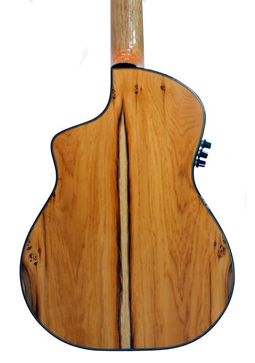 vente guitare Acoustique nylon Noeva demi caisse Guitares La Fée