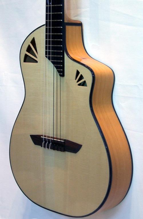 acheter une guitare Acoustique nylon Noeva demi caisse Guitares La Fée dans la boutique de laguitare.com