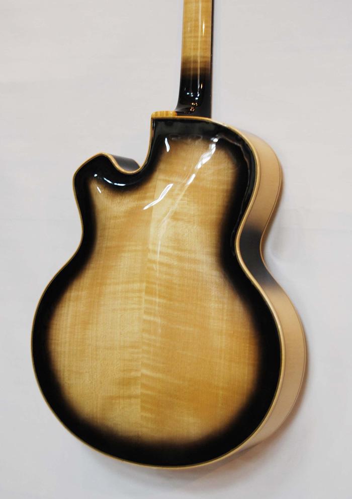 vente guitare Arch-top Ella Guitares La Fée