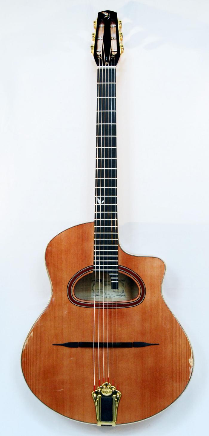 boutique guitare laguitare.com : vente guitare Mélusine grande bouche Guitares La Fée