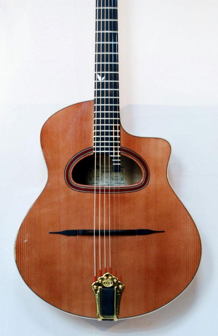 vente guitare Type Selmer - Manouche Mélusine grande bouche Guitares La Fée