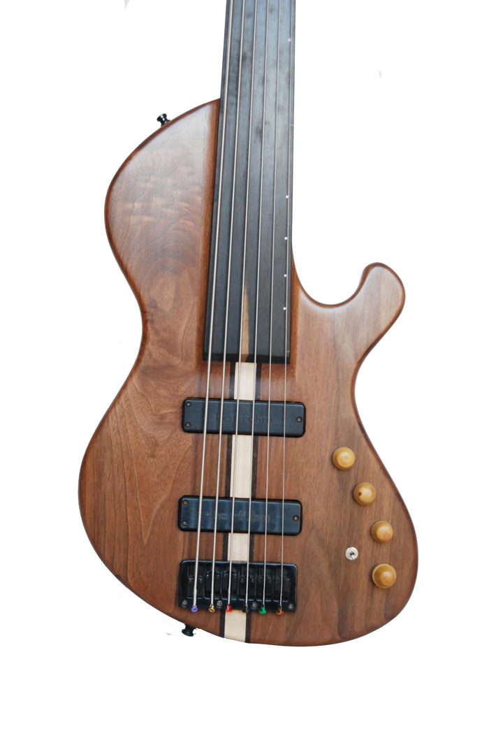 vente guitare Electrique basse Gaia Guitares La Fée