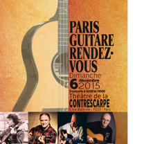 video guitare : Paris Guitare Rendez Vous - A. Boyer, P. Finger, M. Haumont, J. Stotzem avec laguitare.com