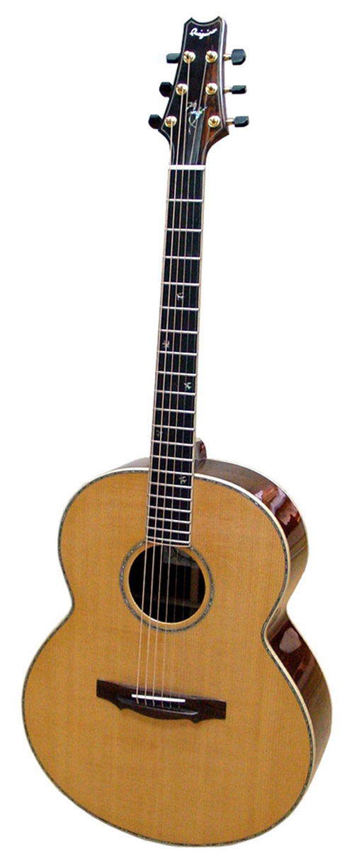 boutique guitare laguitare.com : vente guitare Jumbo Quéguiner
