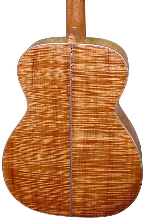 acheter une guitare Acoustique acier OM Koa Quéguiner dans la boutique de laguitare.com