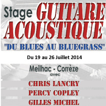 apprendre guitare : Chris Lancry - Du BLUES au BLUEGRASS avec laguitare.com