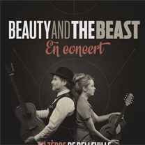 Beauty & the Beast En concert avec le site de guitare LaGuitare.Com