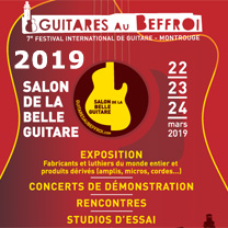 news video guitare : Guitares au Beffroi - 7ème édition du Salon de la Belle Guitare avec laguitare.com