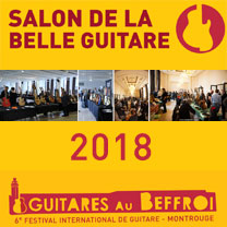 Guitares au Beffroi ENGLISH Salon de la Belle Guitare 6th edition avec le site de guitare LaGuitare.Com