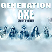 video guitare : Generation Axe Tour 2016 - Steve Vai, Yngwie Malmsteen, Zakk Wylde, Nuno Bettenc avec laguitare.com