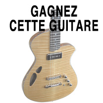 news lutherie guitare : APLG - Gagner une guitare des luthiers APLG