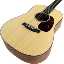 video guitare : Martin - D JR Junior avec laguitare.com