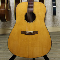 video guitare : Fran�ois Vendramini - Folk Dreadnought avec laguitare.com